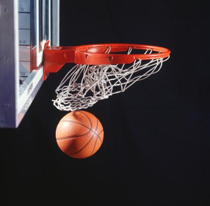 Sports Target「Basketball in hoop, close-up」:スマホ壁紙(7)
