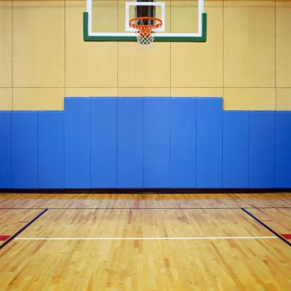 スポーツ「Basketball Court」:スマホ壁紙(17)