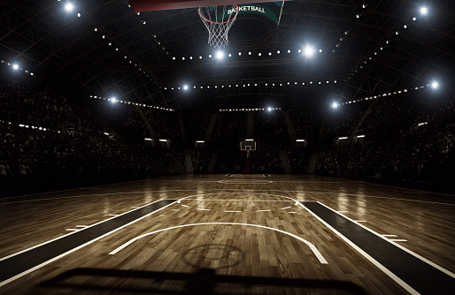 Illuminated「Basketball arena」:スマホ壁紙(4)