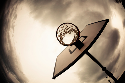 Auto Post Production Filter「Basketball Hoop, Dramatic Sky」:スマホ壁紙(7)