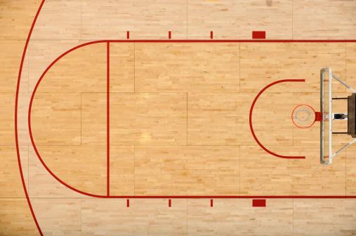 バスケットボール「バスケットボール階」:スマホ壁紙(9)