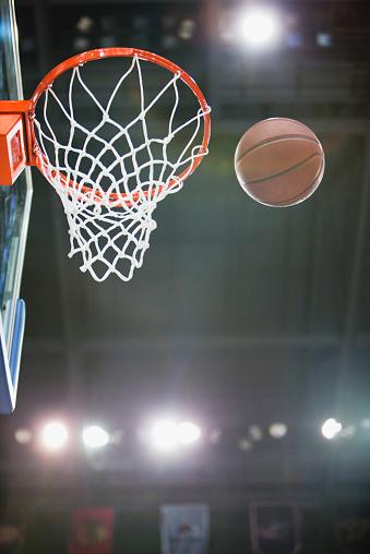 バスケットボール「Basketball and hoop」:スマホ壁紙(18)