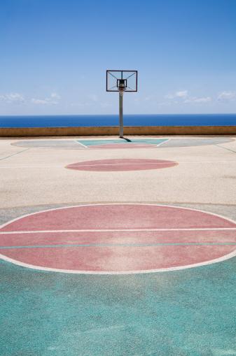 Leisure Activity「Basketball court by sea」:スマホ壁紙(7)