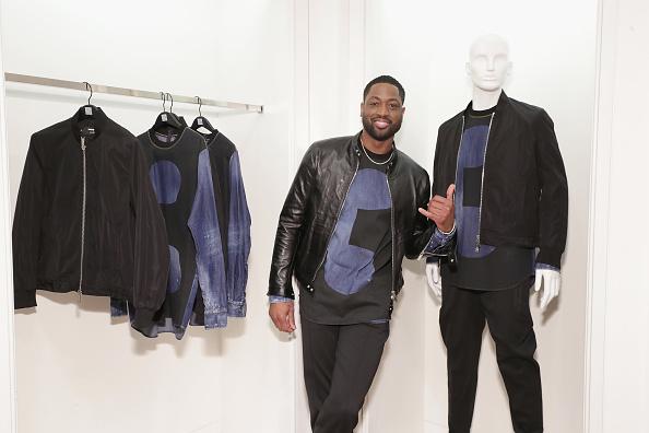 バスケットボール「Saks Fifth Avenue Celebrates The Exclusive Launch Of The Dsquared2 x Dwyane Wade Capsule Collection」:写真・画像(19)[壁紙.com]