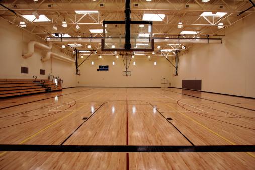 バスケットボール「バスケットボールの寺院」:スマホ壁紙(3)