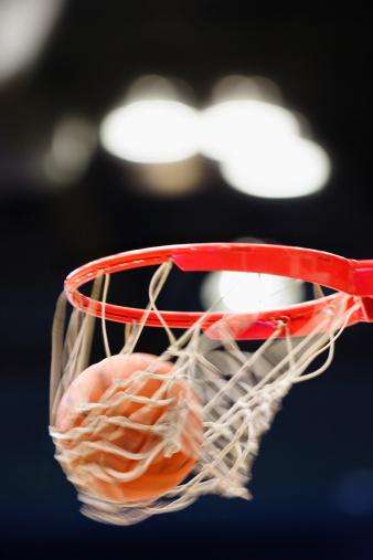 Goal - Sports Equipment「Basketball in basket.」:スマホ壁紙(16)