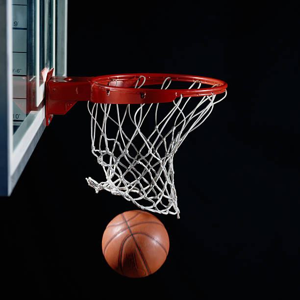 Basketball in Hoop:スマホ壁紙(壁紙.com)