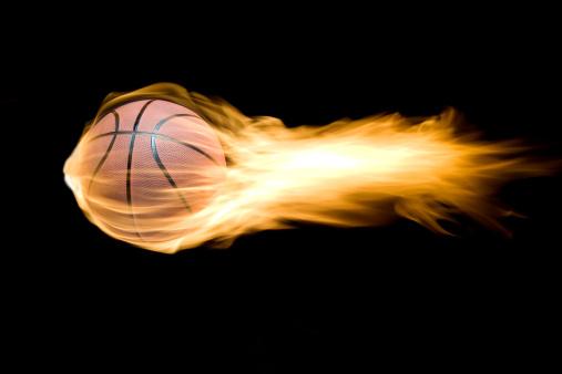 Taking a Shot - Sport「basketball in flames」:スマホ壁紙(11)