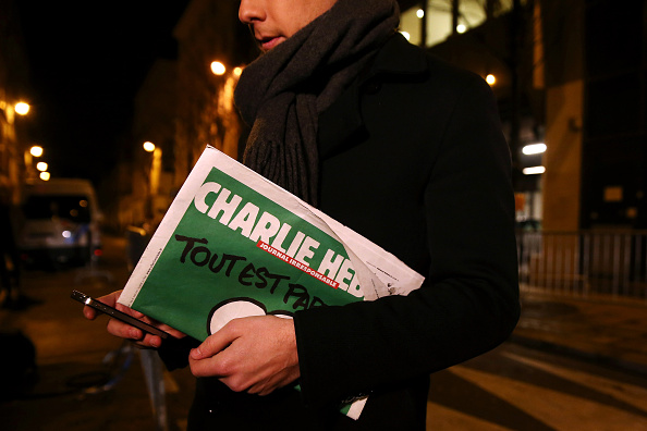 Publication「First International Edition Of Charlie Hebdo Published Since Paris Terror Attacks」:写真・画像(15)[壁紙.com]