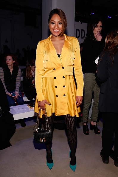 Yellow Dress「Marissa Webb - Front Row - Fall 2016 New York Fashion Week: The Shows」:写真・画像(15)[壁紙.com]