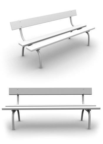 Public Park「Take a rest - Park Bench」:スマホ壁紙(2)