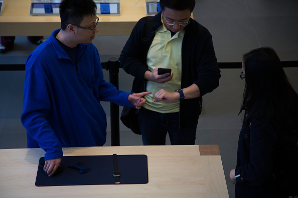 Apple Watch「Apple Watch Launched In Hong Kong」:写真・画像(2)[壁紙.com]