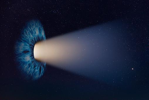 Iris - Eye「Cosmic Human Eye」:スマホ壁紙(4)