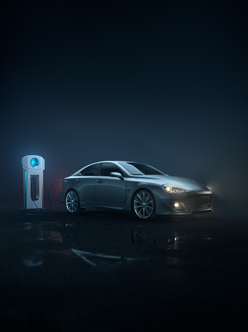 Efficiency「Generic e-car - portrait」:スマホ壁紙(0)