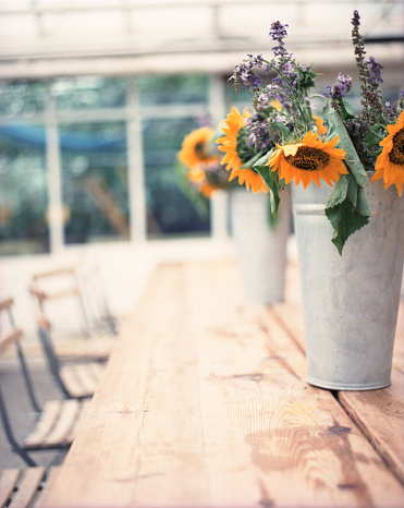 ひまわり「Sunflower Bouquet Centerpieces」:スマホ壁紙(10)
