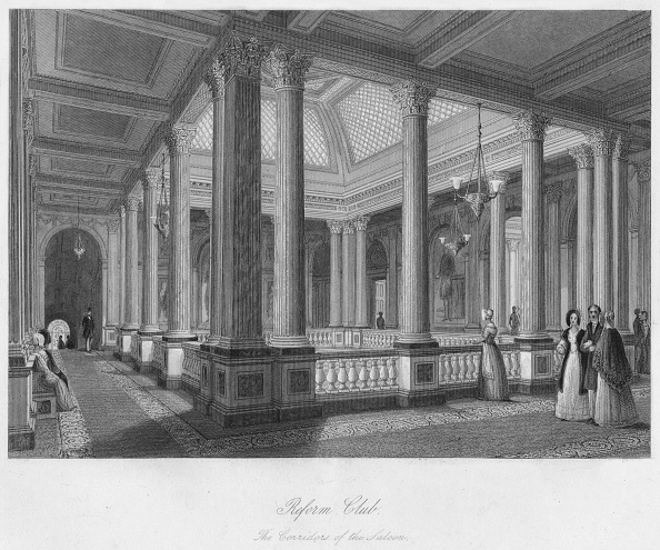 Architectural Feature「Reform Club. The Corridors of the Saloon」:写真・画像(13)[壁紙.com]
