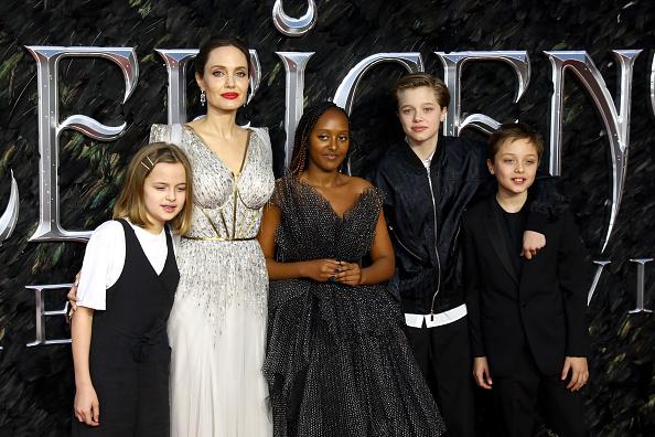 "Family「""Maleficent: Mistress Of Evil"" European Premiere - Red Carpet Arrivals」:写真・画像(13)[壁紙.com]"