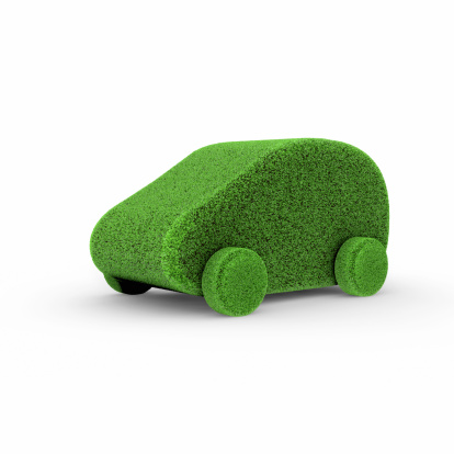 Compact Car「Small Green Car covered with Lawn」:スマホ壁紙(19)