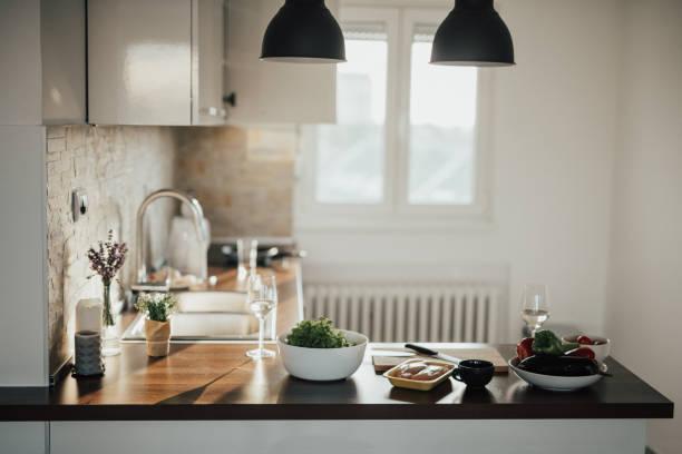 Loft Apartment Kitchen:スマホ壁紙(壁紙.com)