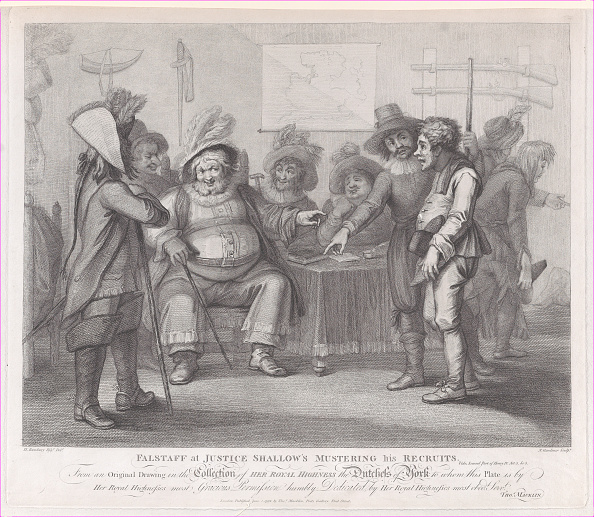 Shallow「Falstaff At Justice Shallows Mustering His Recruits (Shakespeare,」:写真・画像(11)[壁紙.com]