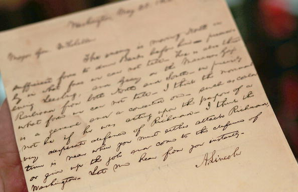 Writing「Sotheby's To Auction Rare Historical U.S. Documents」:写真・画像(13)[壁紙.com]
