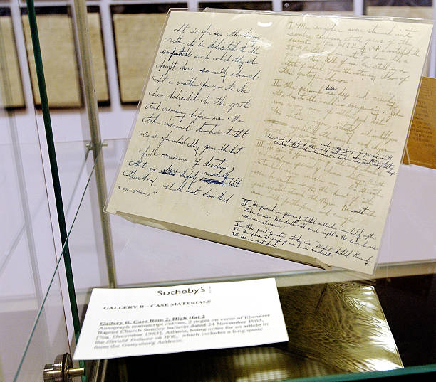 Martin Luther King Documents On View At Sotheby's In New York City:ニュース(壁紙.com)