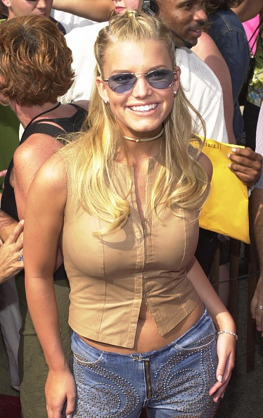 Jessica Simpson「2000 Teen Choice Awards」:写真・画像(8)[壁紙.com]