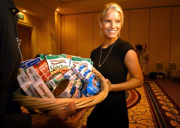 Del Mar - California「Jessica Simpson Visits Chicken Of The Sea Conference」:写真・画像(3)[壁紙.com]