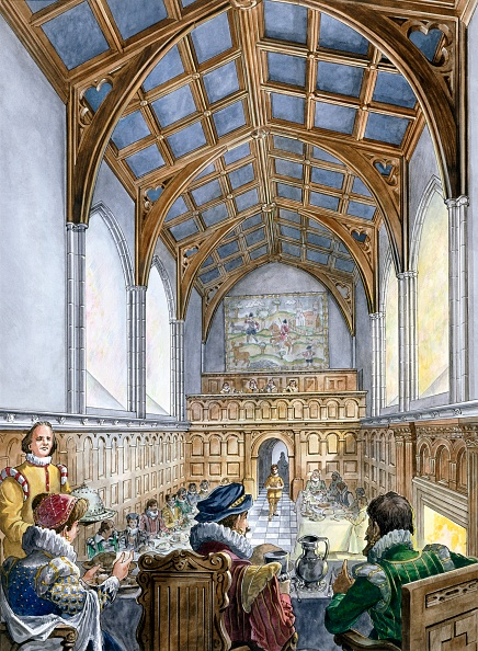 Tudor Style「Great Hall」:写真・画像(3)[壁紙.com]