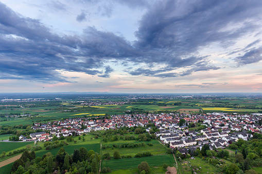 Hesse - Germany「Panoramic aerial view Rhein-Main area」:スマホ壁紙(18)