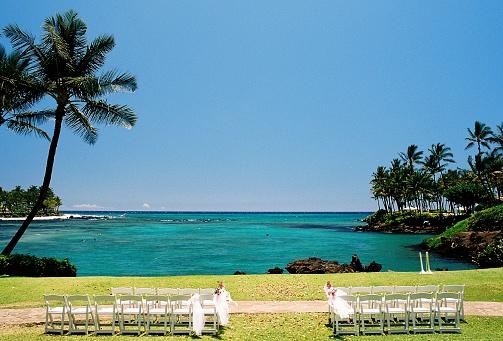 Kihei「Maui Hawaii Pacific ocean front palm tree wedding spot」:スマホ壁紙(5)