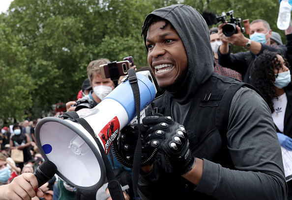Celebrities「Black Lives Matter Movement Inspires Protest In London」:写真・画像(12)[壁紙.com]