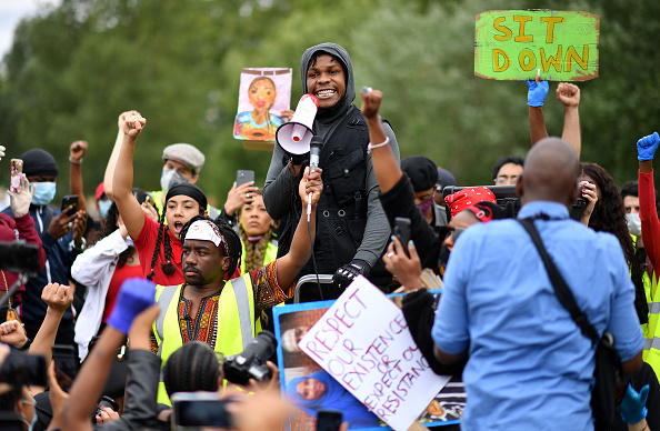 Hyde Park - London「Black Lives Matter Movement Inspires Protest In London」:写真・画像(6)[壁紙.com]