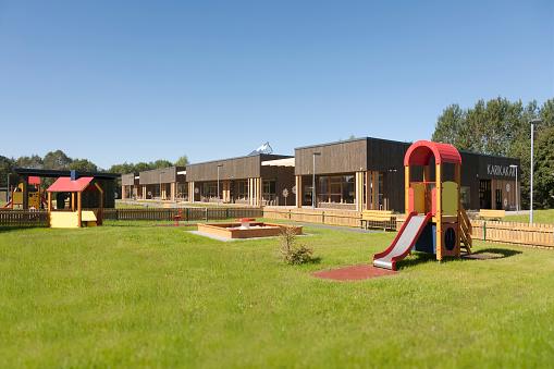 Preschool「Estonia, playground of newly built kindergarten」:スマホ壁紙(7)