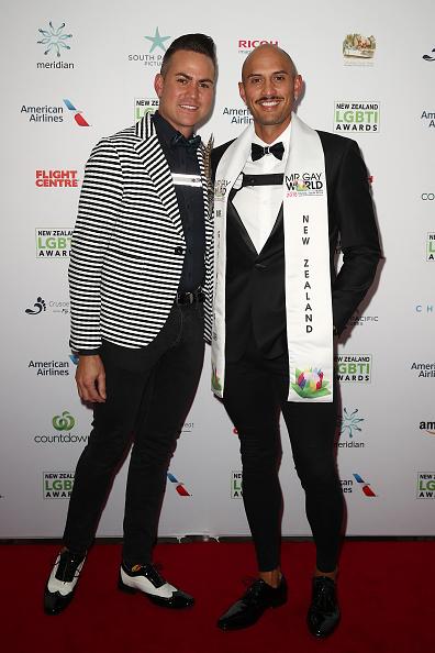 ダービーシューズ「New Zealand LGBTI Awards 2018 - Arrivals」:写真・画像(5)[壁紙.com]