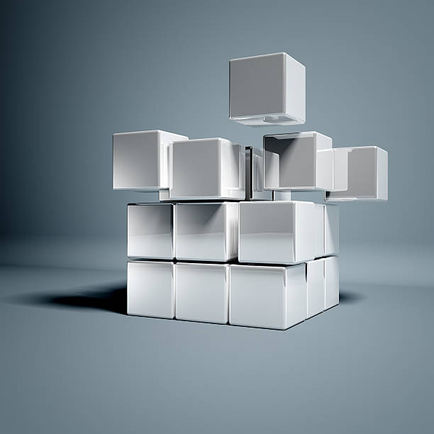Blank 3d Cubes:スマホ壁紙(壁紙.com)