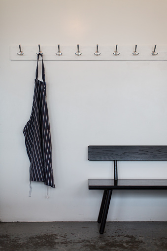 Hook「Cloakroom area with bench and coat hooks」:スマホ壁紙(7)