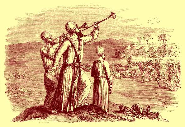 トランペット「Blowing of the silver trumpets」:写真・画像(12)[壁紙.com]