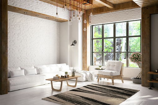 Home Decor「Loft Room」:スマホ壁紙(9)