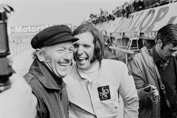 1972「Colin Chapman And Emerson Fittipaldi」:写真・画像(9)[壁紙.com]