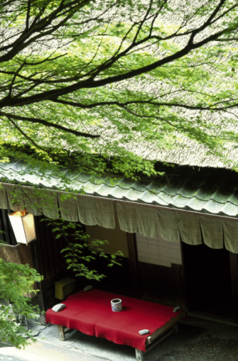 京都市「Japanese cafe in Sagano」:スマホ壁紙(13)
