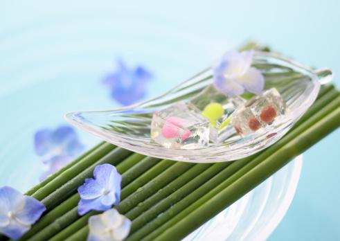 あじさい「Japanese cake」:スマホ壁紙(13)