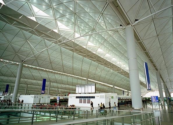 Airport Departure Area「Hong Kong's Chek Lap Kok Airport」:写真・画像(18)[壁紙.com]