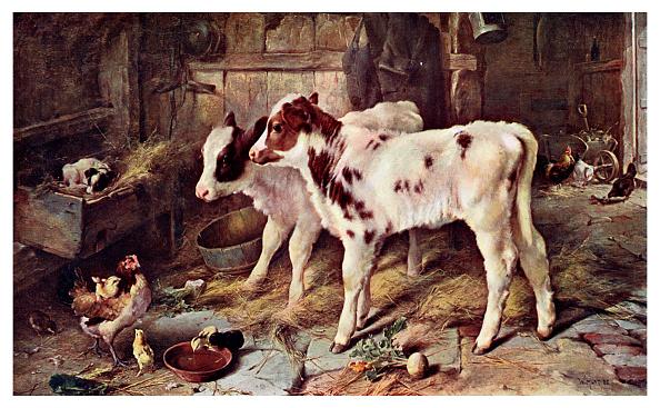 Hen「'The Dog in the Manger', 1885 (1901).」:写真・画像(5)[壁紙.com]
