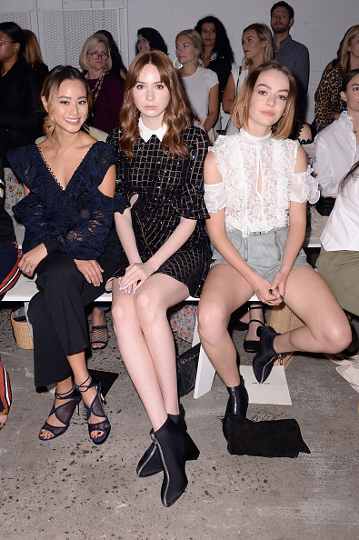 ニューヨークファッションウィーク「Self-Portrait Spring Summer 2018 - Front Row - New York Fashion Week」:写真・画像(11)[壁紙.com]