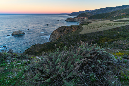 Bixby Creek Bridge「View From Hurricane Point」:スマホ壁紙(5)