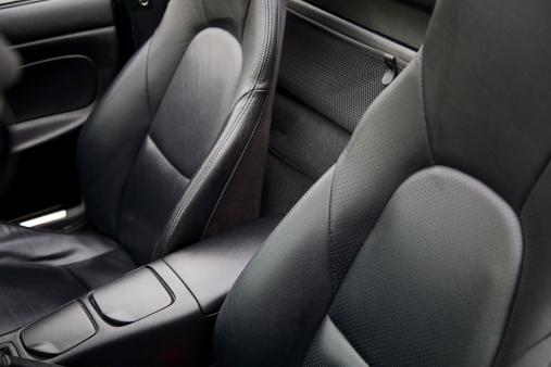 車「豪華なブラックレザーのスポーツの座席」:スマホ壁紙(18)