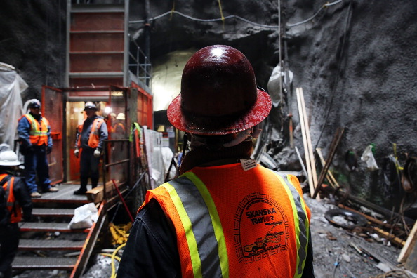 Construction Industry「Construction Continues On New York's 2nd Avenue Subway」:写真・画像(6)[壁紙.com]