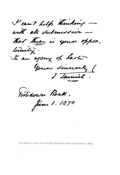 Symbol「John Tenniel 's letter to Lewis Carroll」:写真・画像(16)[壁紙.com]