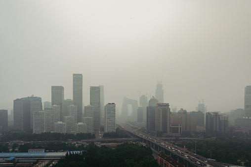 Beijing「Beijing Smog and Air Pollution」:スマホ壁紙(4)